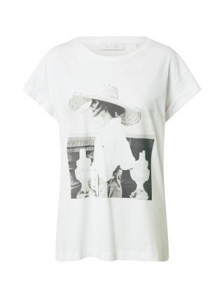 Rich & Royal Tričko  biela / čierna dámské XS