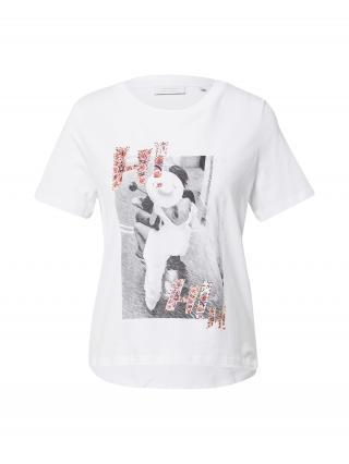 Rich & Royal Tričko  biela / sivá / rosé dámské XS