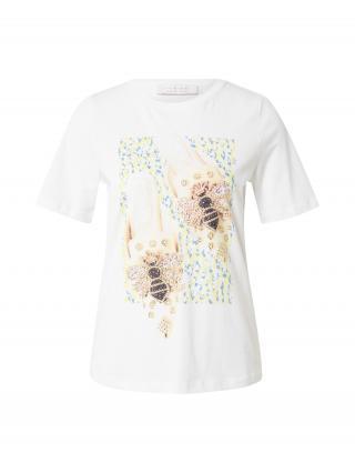Rich & Royal Tričko  biela / zmiešané farby dámské XS