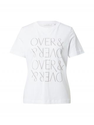 Rich & Royal Tričko  šedobiela / sivá / strieborná dámské S