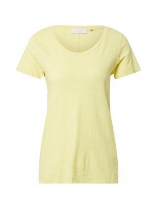 Rich & Royal Tričko  svetložltá dámské S