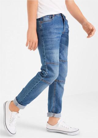 Robustné džínsy so zosilnenou časťou na kolenách pánské modrá 128,134,140,146,152,158,164,170,176