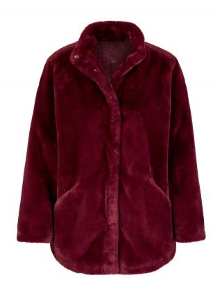 Rock Your Curves by Angelina K. Zimná bunda  vínovo červená dámské L