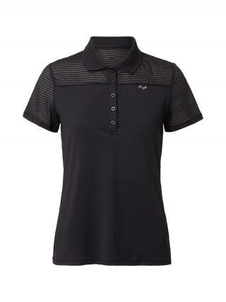 Röhnisch Funkčné tričko Miko  čierna dámské XS