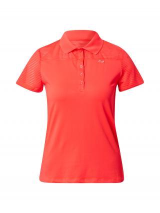 Röhnisch Funkčné tričko Miko  neónovo ružová dámské XS