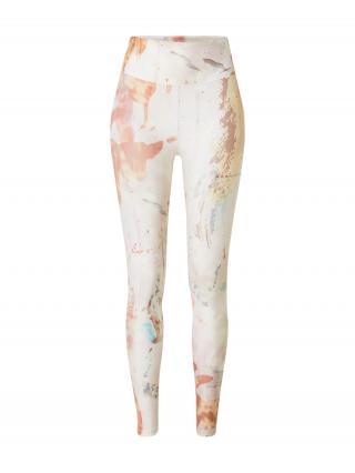 Röhnisch Športové nohavice KEIRA  biela / pastelovo červená / vodová / pastelovo ružová dámské XS