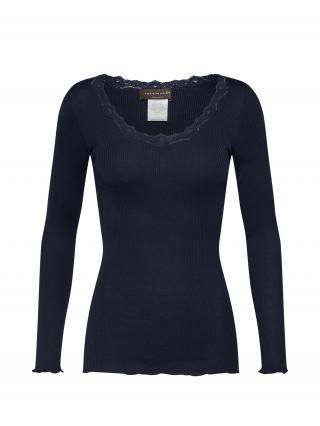rosemunde Tričko  námornícka modrá dámské S