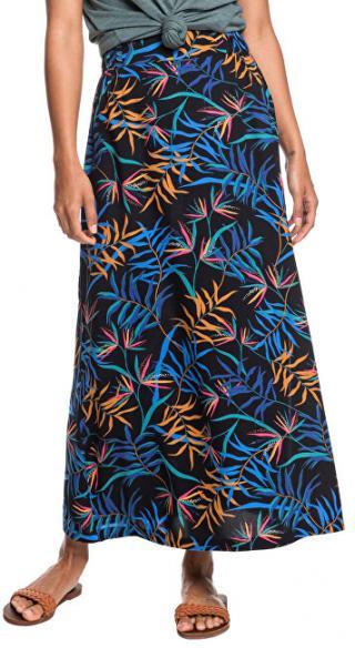 Roxy Dámska sukňa Tropic al Chancer Anthracite Wild Leaves ERJWK03078-KVJ9 M dámské