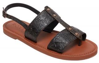 Roxy Dámske sandále Chrishelle Black ARJL200744-BLK 39 dámské