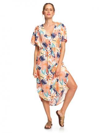 Roxy Dámske šaty Flamingo S hades Peach Blush Bright Skies ERJWD03428-MDT8 S dámské