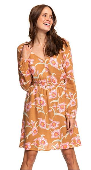 Roxy Dámske šaty Heatin Up Chipmunk Surfin Love ERJWD03357-CMW6 XL dámské