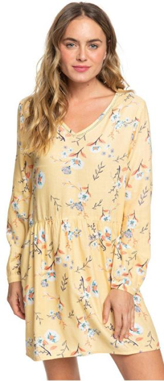 Roxy Dámske šaty Indigo Night Sahara Sun On The River ERJWD03413-YGD6 S dámské