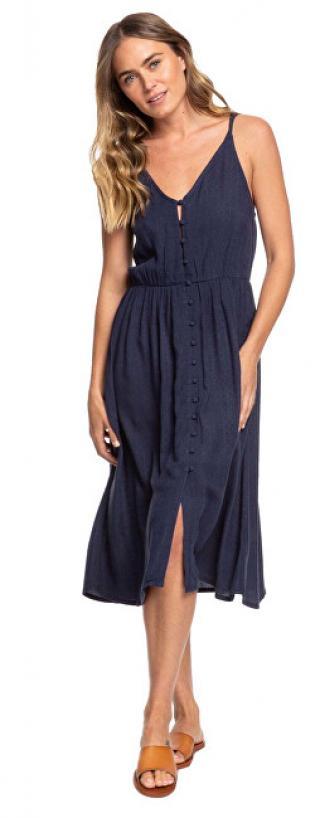 Roxy Dámske šaty Sunset Beauty Solid Mood Indigo ERJWD03441-BSP0 L dámské