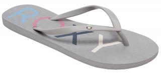 Roxy Dámske žabky Sandy III Grey ARJL100876 -GRY 41 dámské