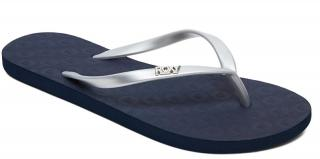 Roxy Dámske žabky Viva Tone II Silver ARJL100682-SIL 41 dámské