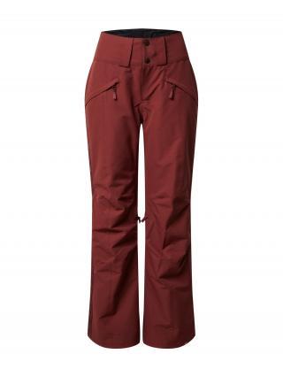 ROXY Funkčné nohavice Spiral  vínovo červená dámské XS