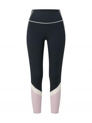 ROXY Športové nohavice ANY OTHER DAY  antracitová / svetloružová / biela dámské XS
