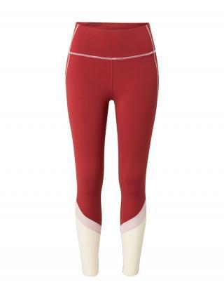 ROXY Športové nohavice ANY OTHER DAY  červená / prírodná biela / ružová dámské XS