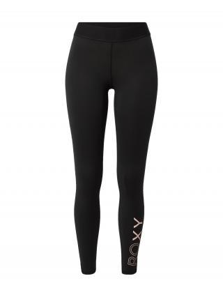 ROXY Športové nohavice DO THE JAZZ  čierna / pastelovo ružová dámské XS