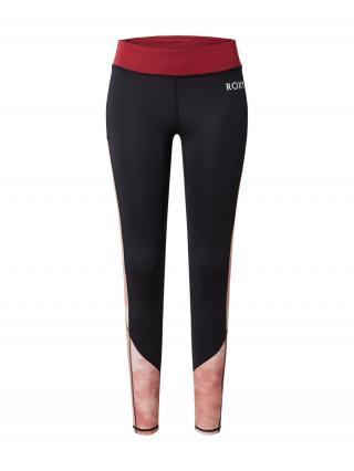 ROXY Športové nohavice  rosé / antracitová dámské S