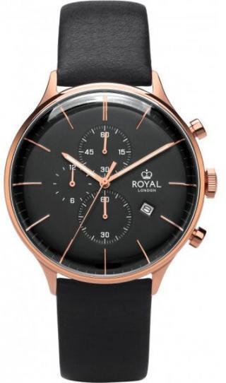 Royal London Analogové hodinky 41383-06 pánské