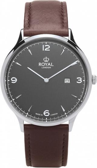 Royal London Analogové hodinky 41461-01 pánské