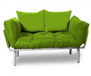 Rozkladacia pohovka Relax Green Full Zelená