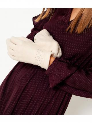 Rukavice pre ženy CAMAIEU - krémová dámské M
