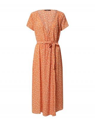 Rut & Circle Šaty IDA  biela / oranžová dámské 36