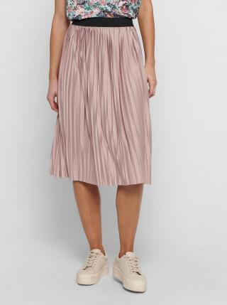 Ružová plisovaná sukňa Jacqueline de Yong Boa dámské M