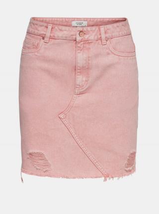 Ružová rifľová sukňa Jacqueline de Yong Rosa dámské L