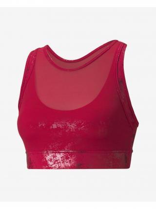 Ružová športová podprsenka Puma Fashion Luxe Ellavate dámské XS