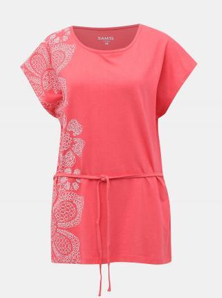 Ružové dámske tričko so zaväzováním SAM 73 dámské ružová S