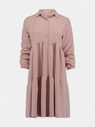 Ružové košeľové šaty Haily´s dámské ružová XL