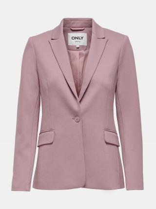 Ružové sako ONLY Pinko dámské ružová S