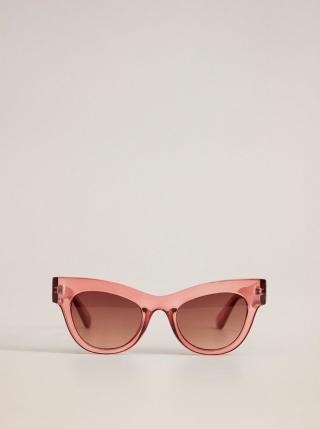 Ružové slnečné okuliare Mango Jules dámské ružová