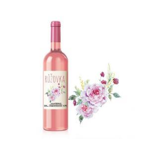 Růžovka - Kvetinové potešenie pre rozprávkový večer