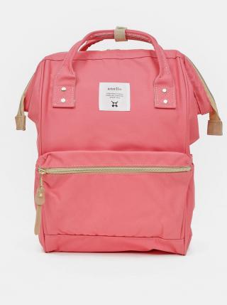 Ružový batoh Anello 18 l dámské ružová