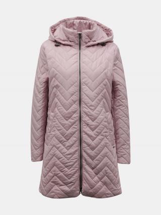 Ružový dámsky prešívaný kabát ZOOT Baseline Molly dámské ružová XS