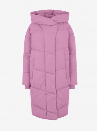 Ružový prešívaný kabát Noisy May Tally dámské ružová M