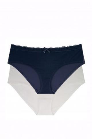Sada nohavičiek Dorina D02265X - barva:DOROY85/atrament / slonová kosť, velikost:XL dámské XL