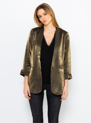 Sako v zlatej farbe CAMAIEU dámské zlatá S