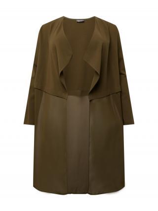 SAMOON Prechodná bunda  olivová dámské M-L