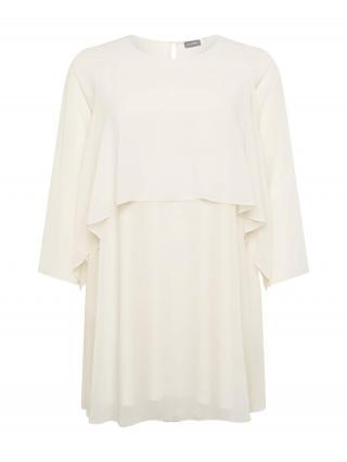 SAMOON Šaty  perlovo biela dámské 46