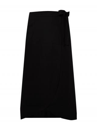SAMOON Sukňa  čierna dámské 48