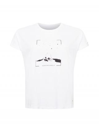SAMOON Tričko  biela / čierna dámské XL