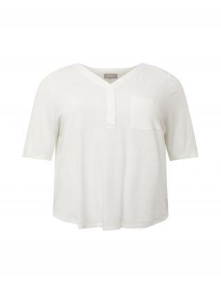 SAMOON Tričko  biela dámské XXL