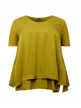 SAMOON Tričko  zelená dámské M-L