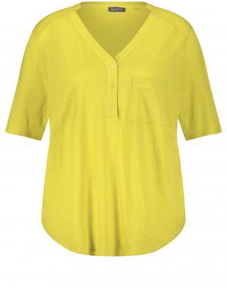 SAMOON Tričko  žltá melírovaná dámské M-L