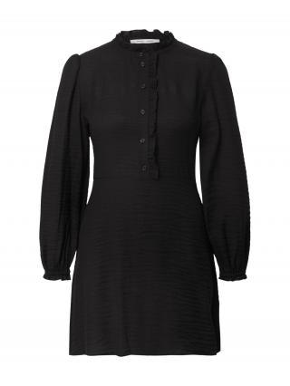 Samsoe Samsoe Košeľové šaty Zarani  čierna dámské 36